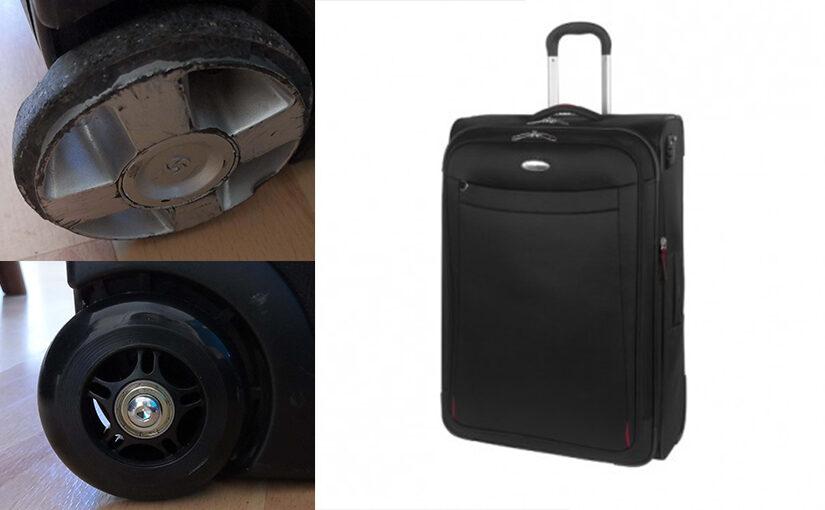 Changer les roues de sa valise Samsonite